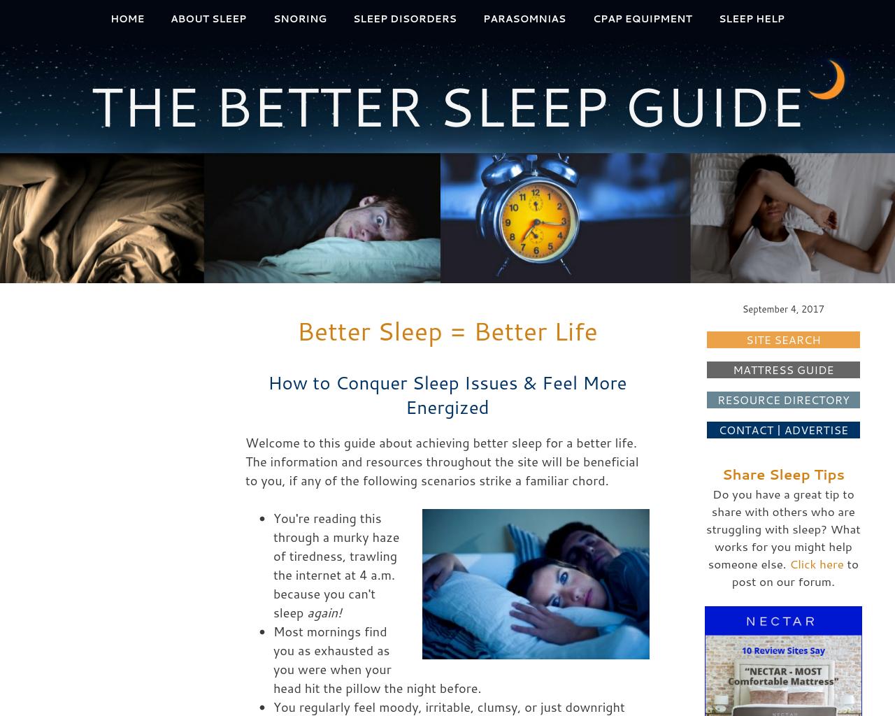 Better-Sleep-Better-Life.com-Advertising-Reviews-Pricing