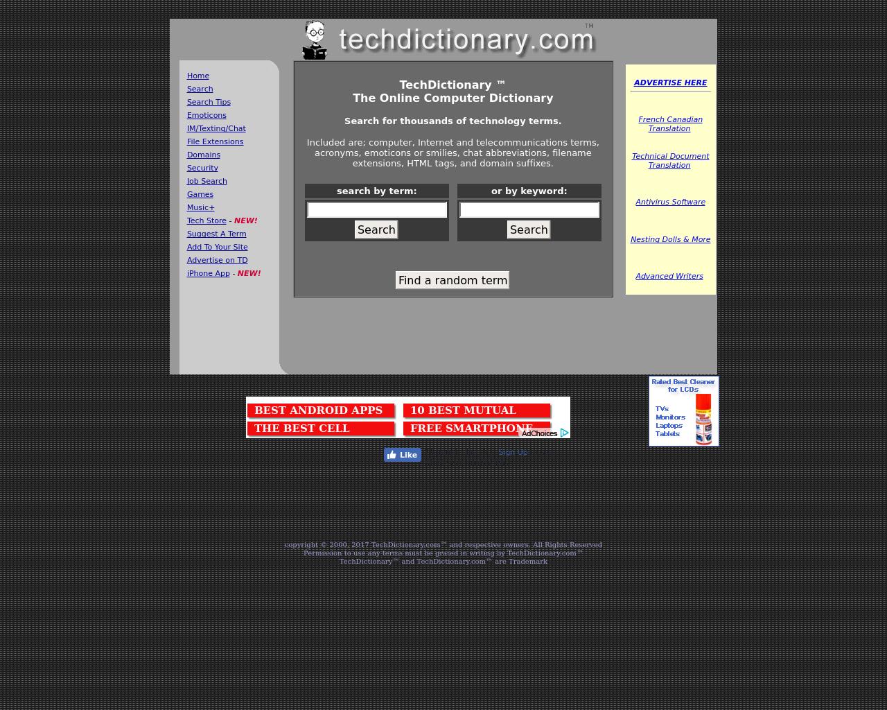 techdictionary.com-Advertising-Reviews-Pricing