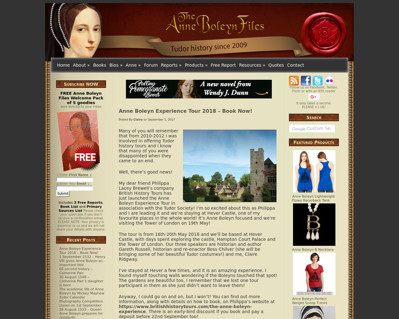 The-Anne-Boleyn-Files-Advertising-Reviews-Pricing