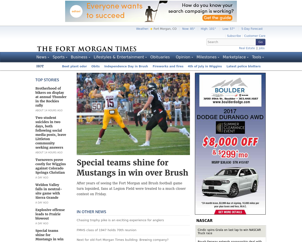 The-Fort-Morgan-Times-Advertising-Reviews-Pricing
