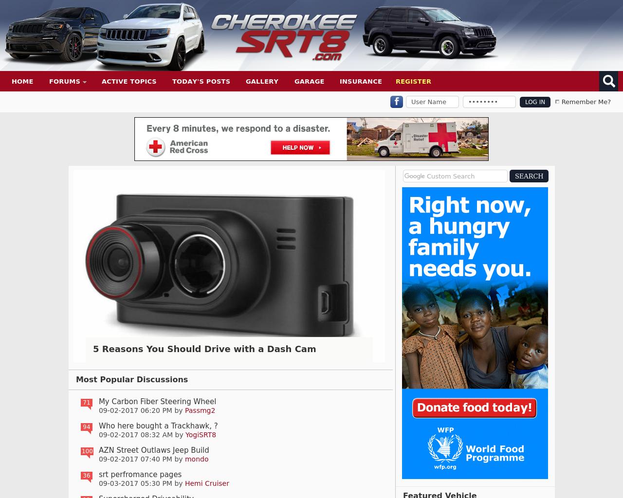 Cherokee-SRT8-Advertising-Reviews-Pricing