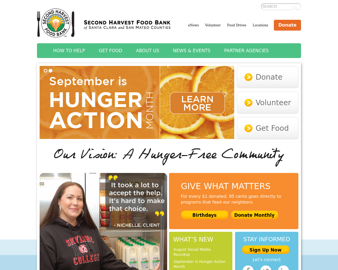 Second-Harvest-Food-Bank-Advertising-Reviews-Pricing