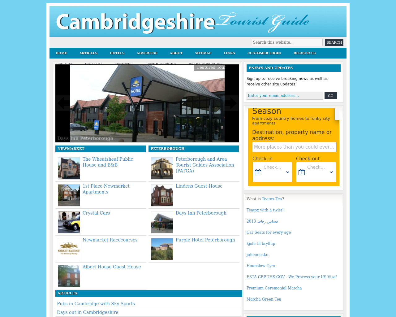 Cambridgeshire-Tourist-Guide-Advertising-Reviews-Pricing