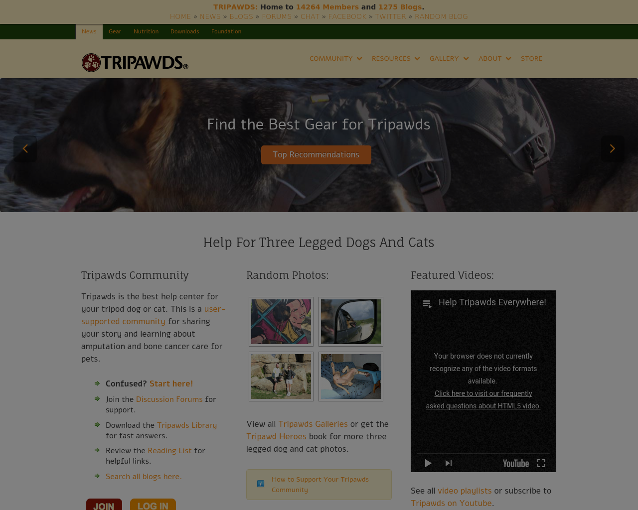 Tripawds-Blogs-Advertising-Reviews-Pricing