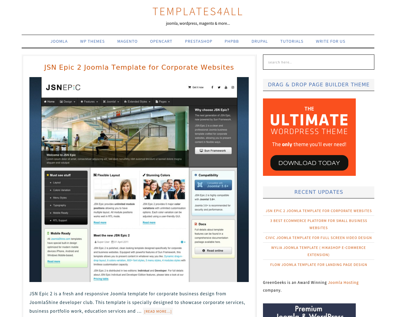 Templates4all.com-Advertising-Reviews-Pricing