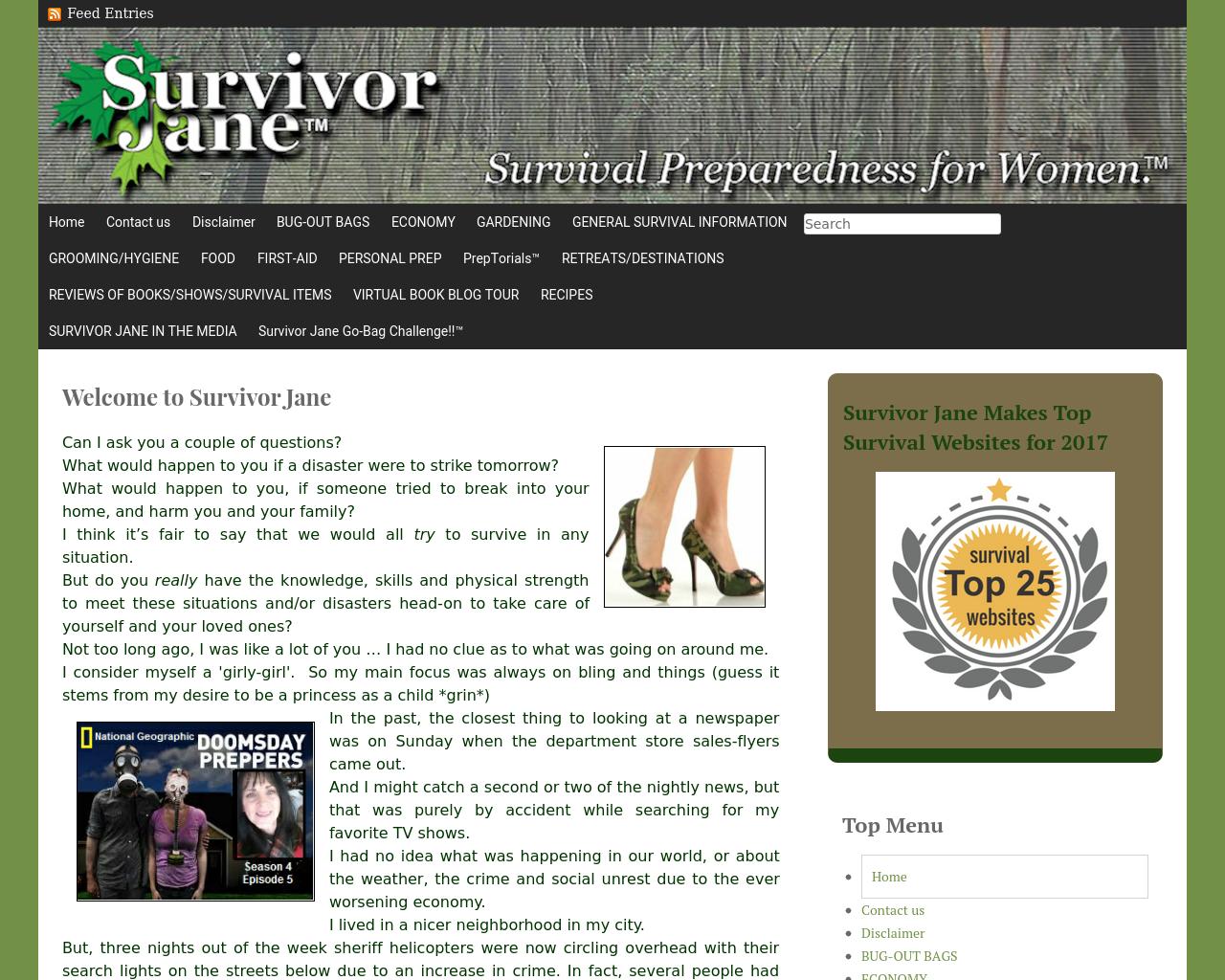 Survivorjane.com-Advertising-Reviews-Pricing