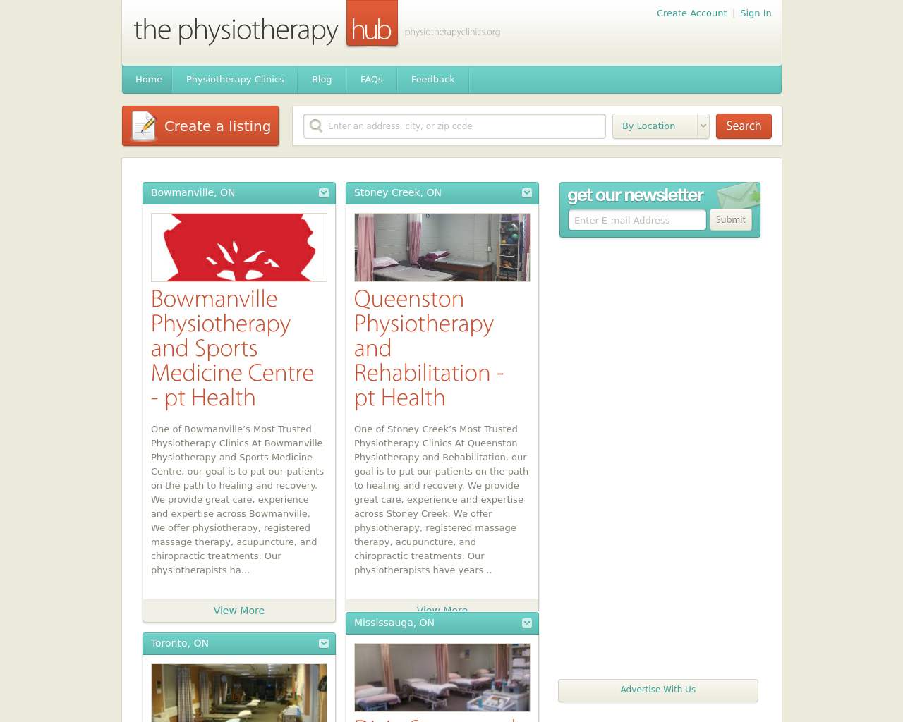 The-Physiotherapy-Hub-Advertising-Reviews-Pricing