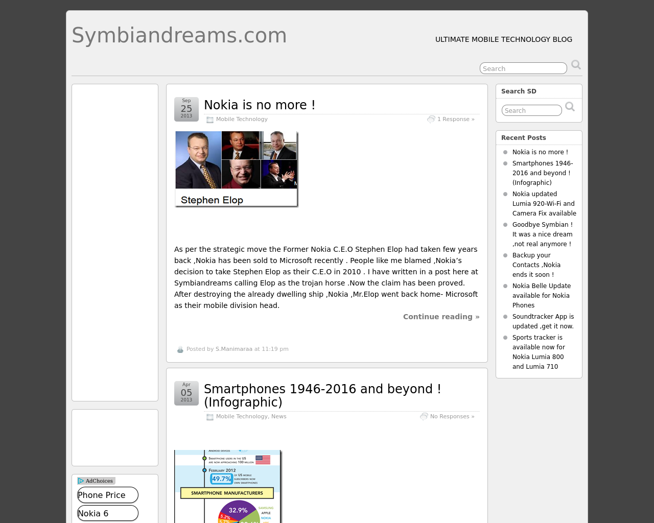 Symbiandreams.com-Advertising-Reviews-Pricing