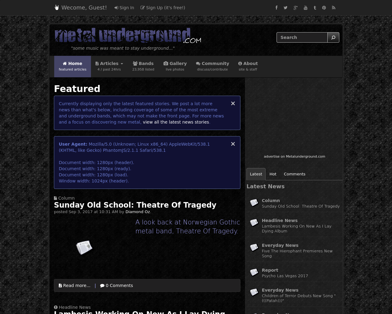 metal-underground.com-Advertising-Reviews-Pricing