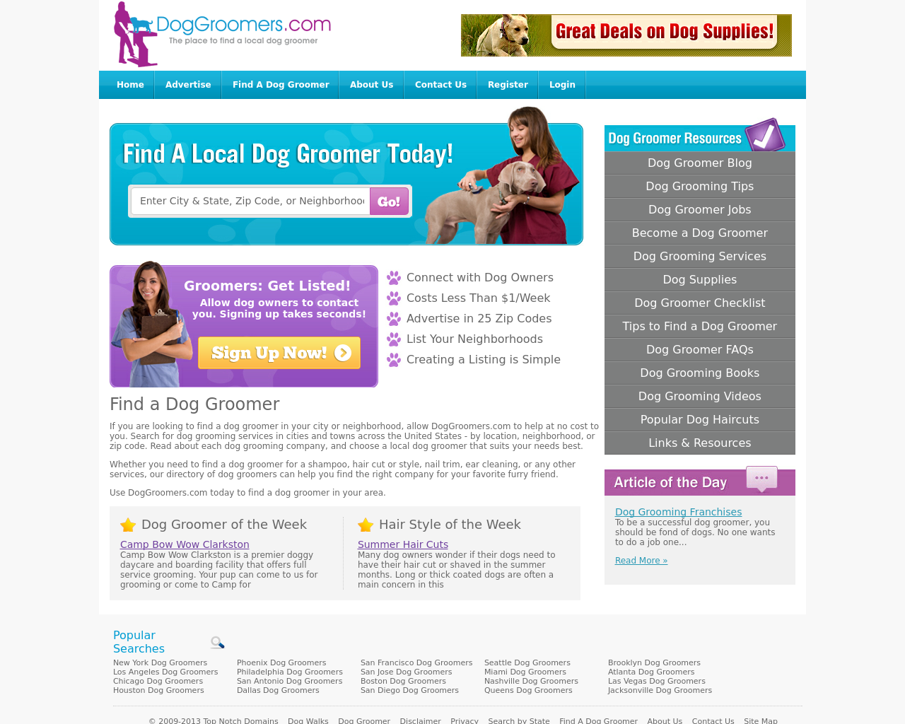 DogGroomers.com-Advertising-Reviews-Pricing
