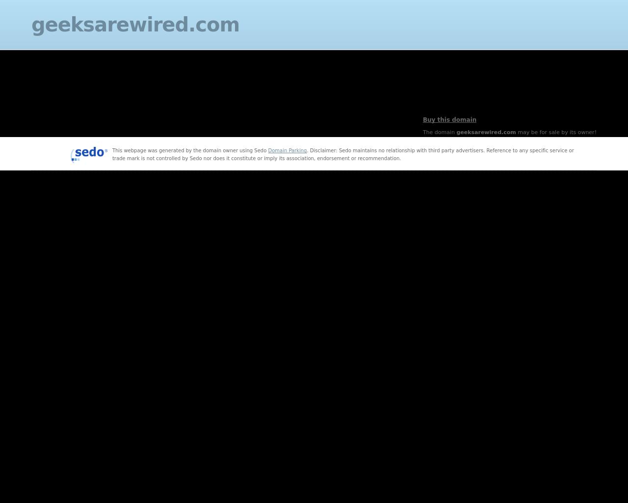 GEEKSAREWIRED-Advertising-Reviews-Pricing