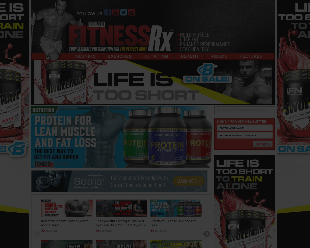 FitnessRx-For-Men-Advertising-Reviews-Pricing