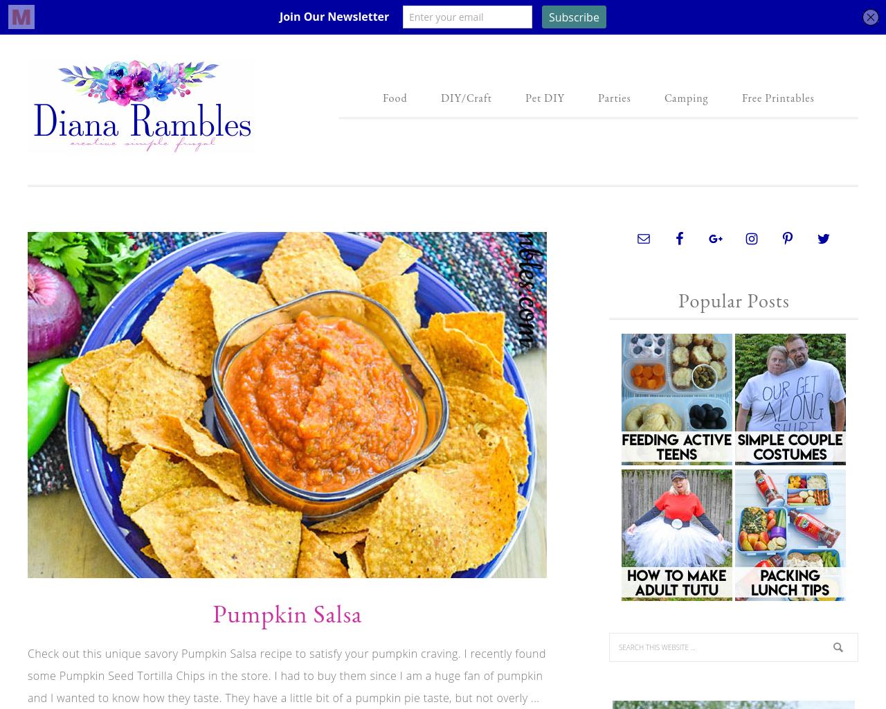 Diana-Rambles-Advertising-Reviews-Pricing