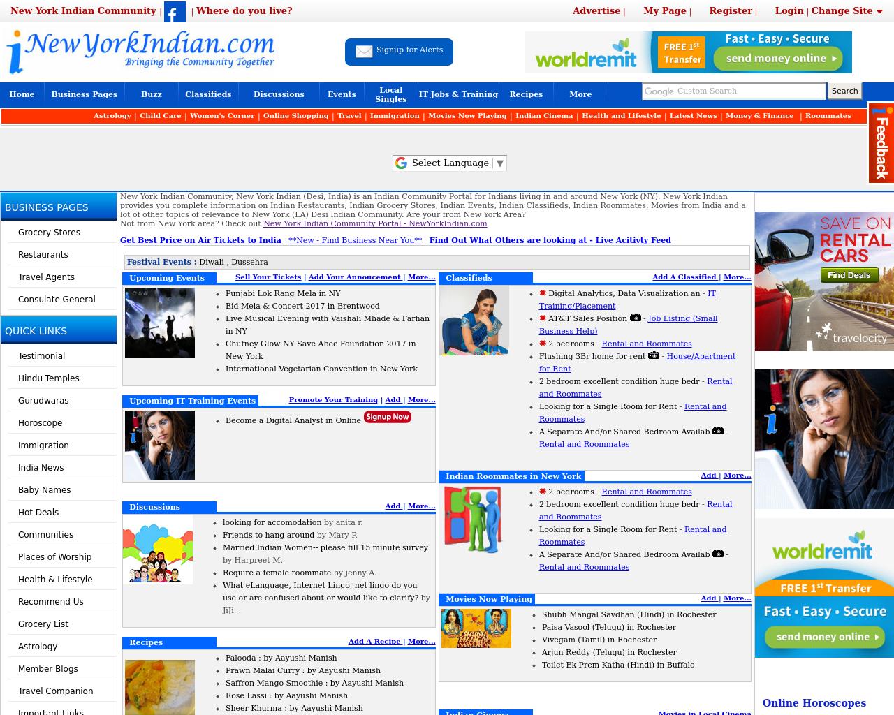 NewYorkindian.com-Advertising-Reviews-Pricing