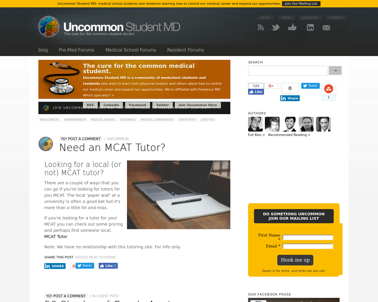 Uncommon-Student-MD-Advertising-Reviews-Pricing