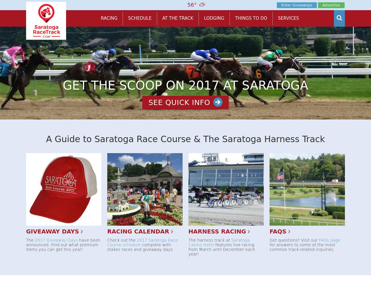 SaratogaRacetrack.com-Advertising-Reviews-Pricing