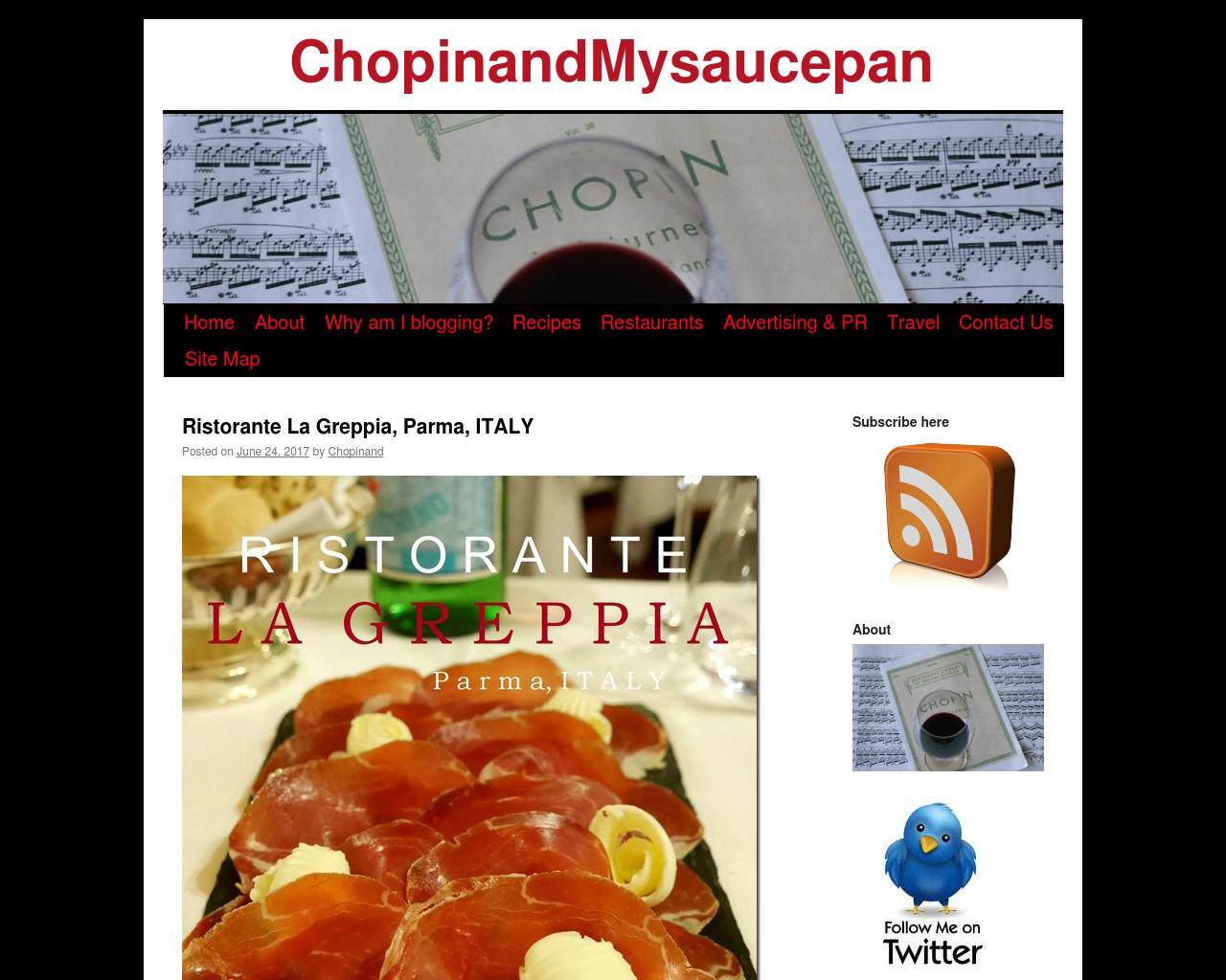 Chopinandmysaucepan.com-Advertising-Reviews-Pricing