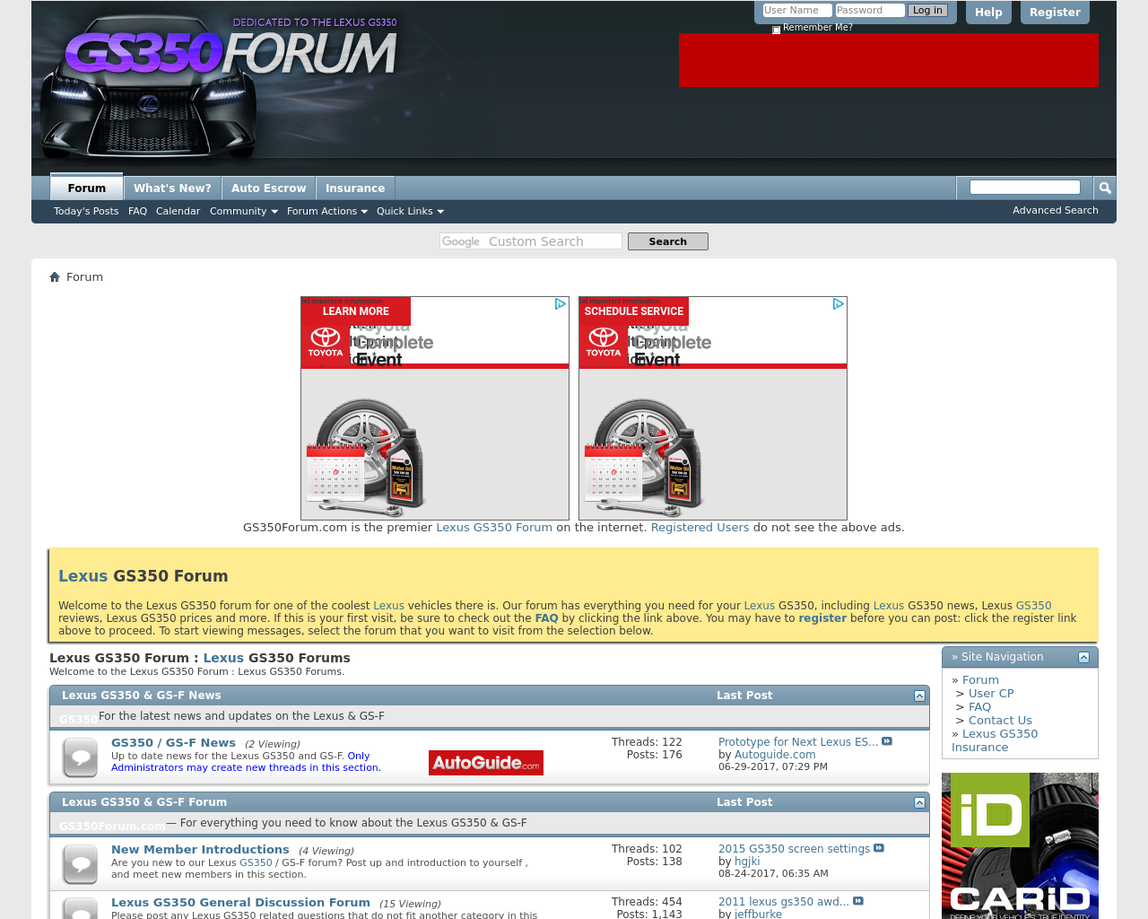 GS350-Forum-Advertising-Reviews-Pricing