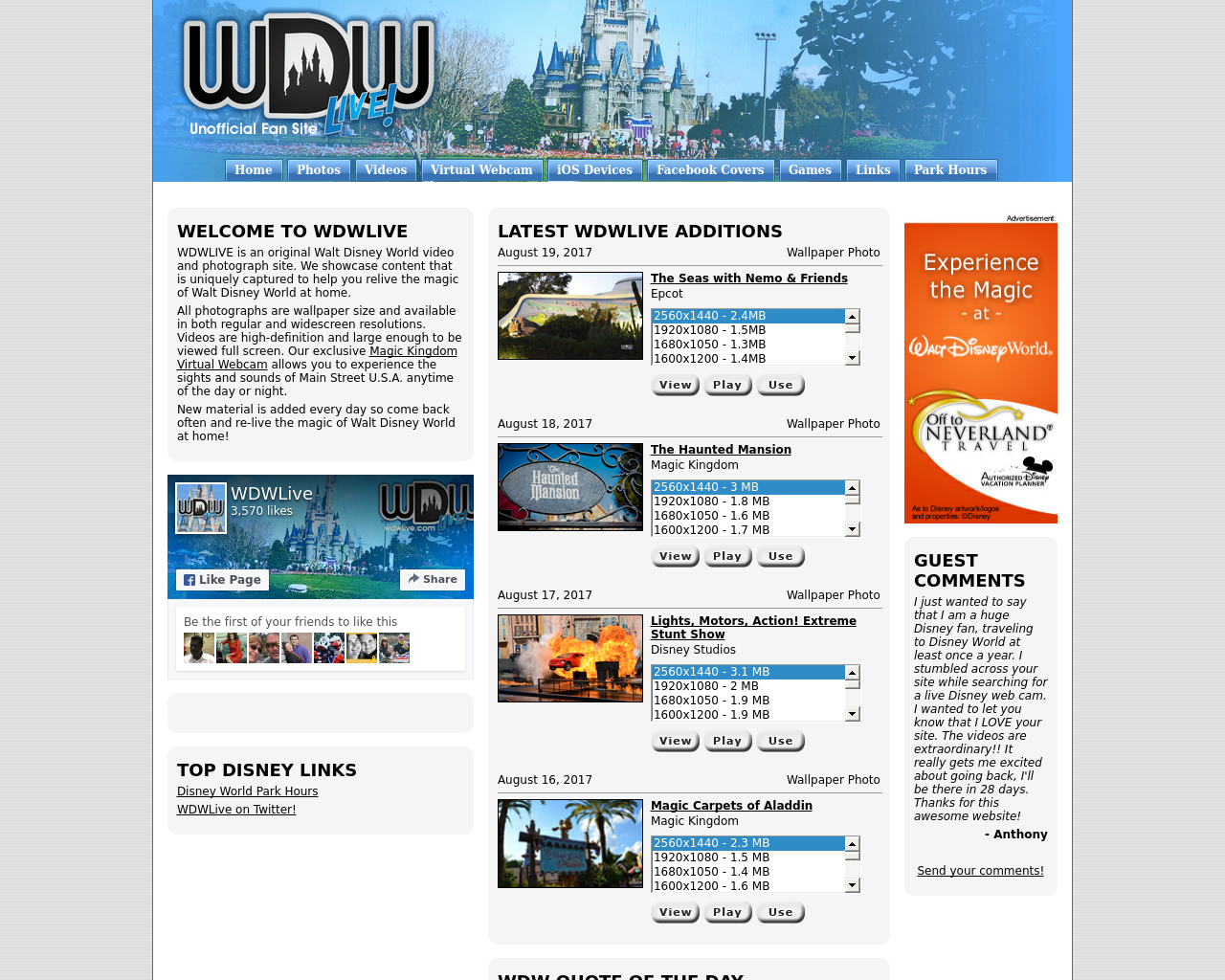 WDWLive-Advertising-Reviews-Pricing