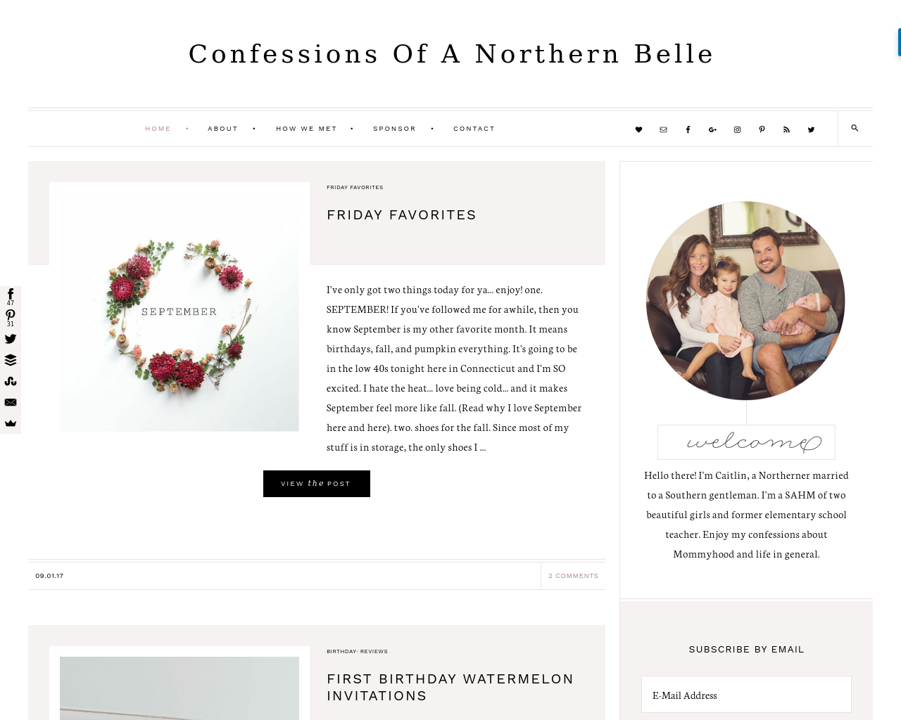 Confessionsofanorthernbelle.com-Advertising-Reviews-Pricing