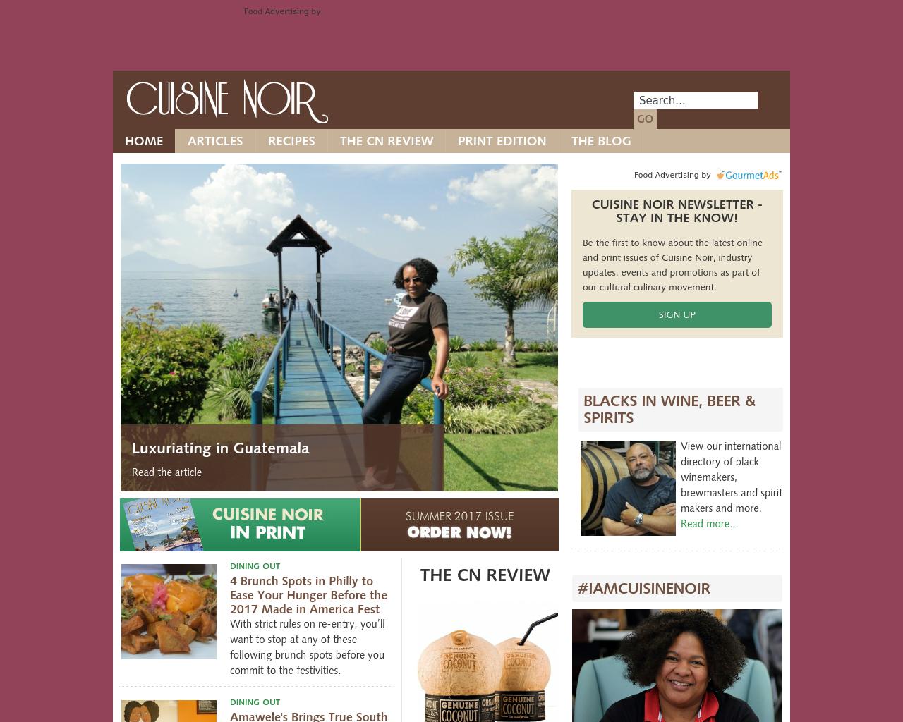 CUISINE-NOIR-Advertising-Reviews-Pricing