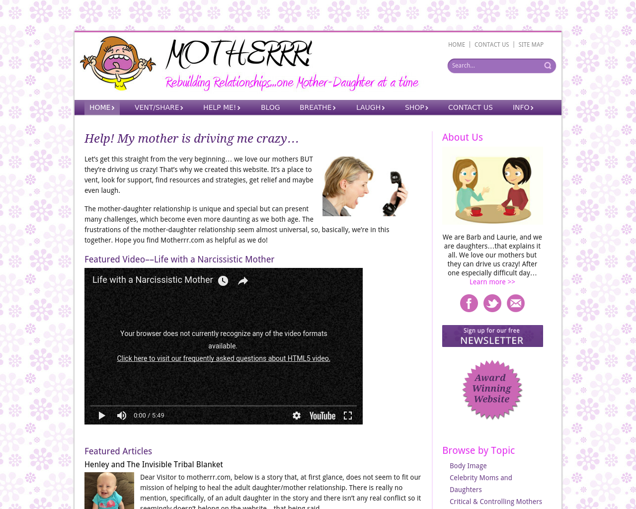 MOTHERRR!-Rebuilding-Relationships...one-Mother-Daughter-at-a-time-Advertising-Reviews-Pricing
