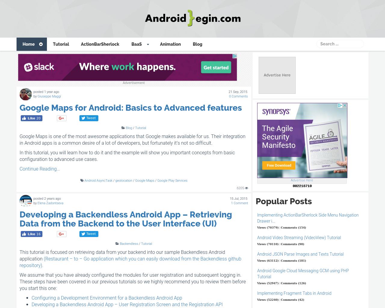 AndroidBegin.com-Advertising-Reviews-Pricing