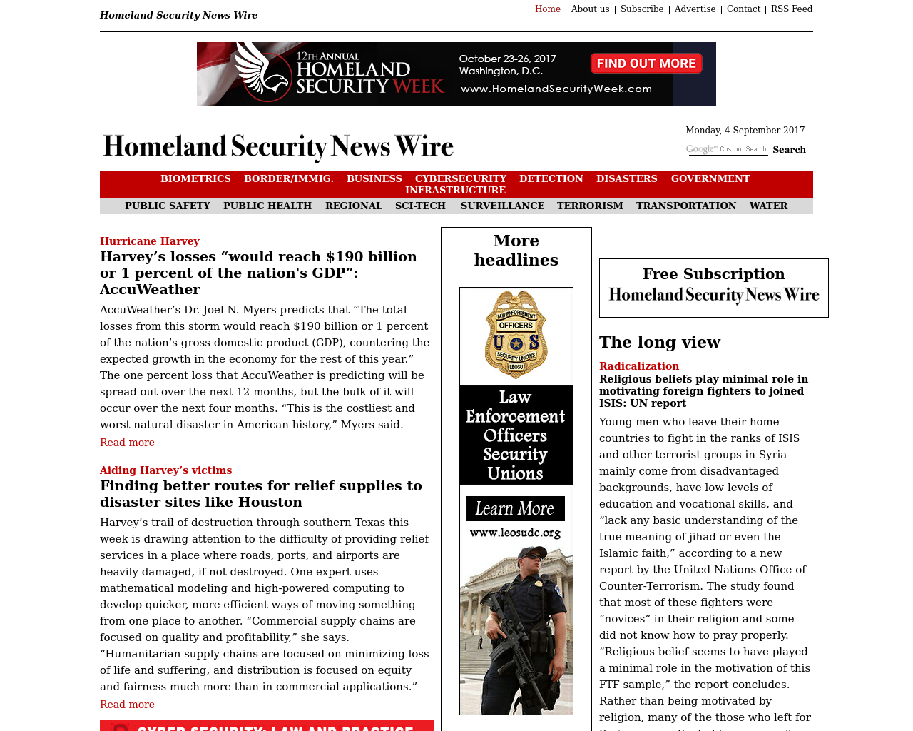 Homeland-Security-News-Fire-Advertising-Reviews-Pricing