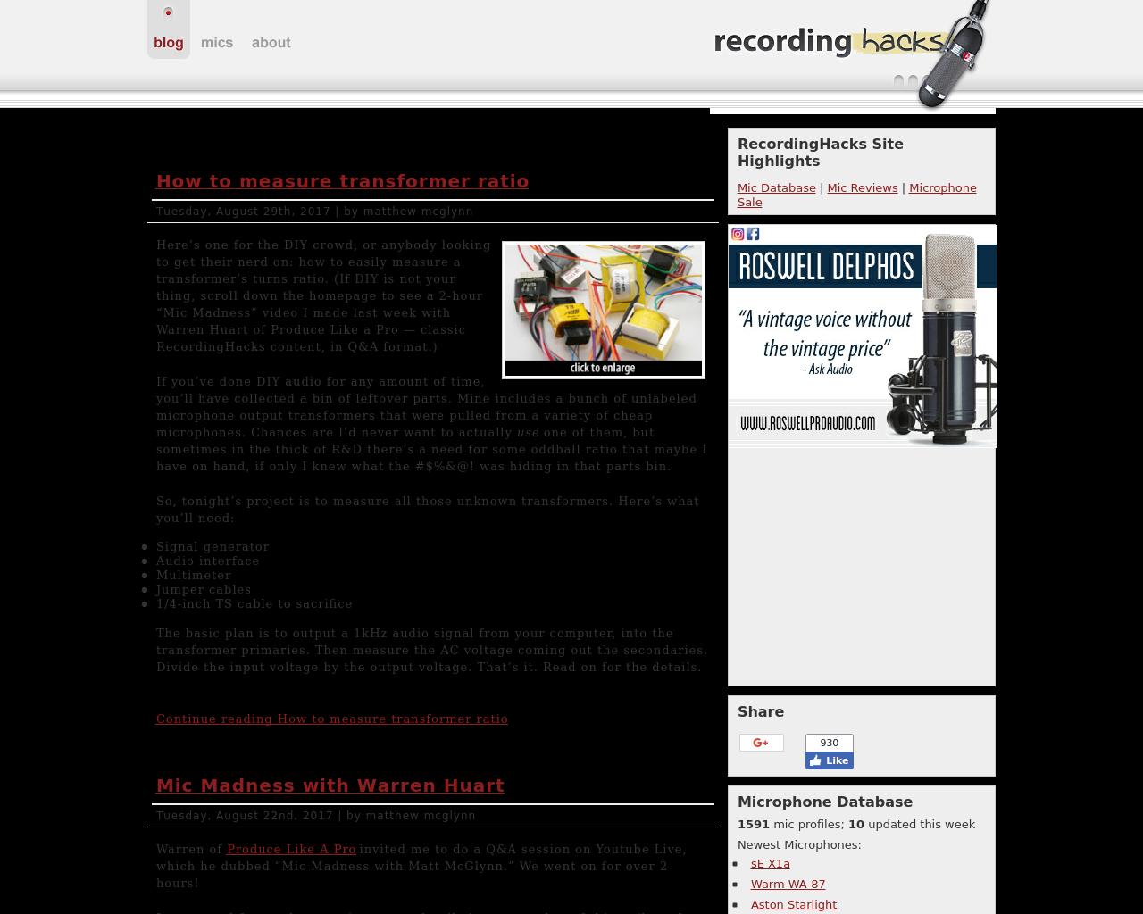 Recording-Hacks-Advertising-Reviews-Pricing
