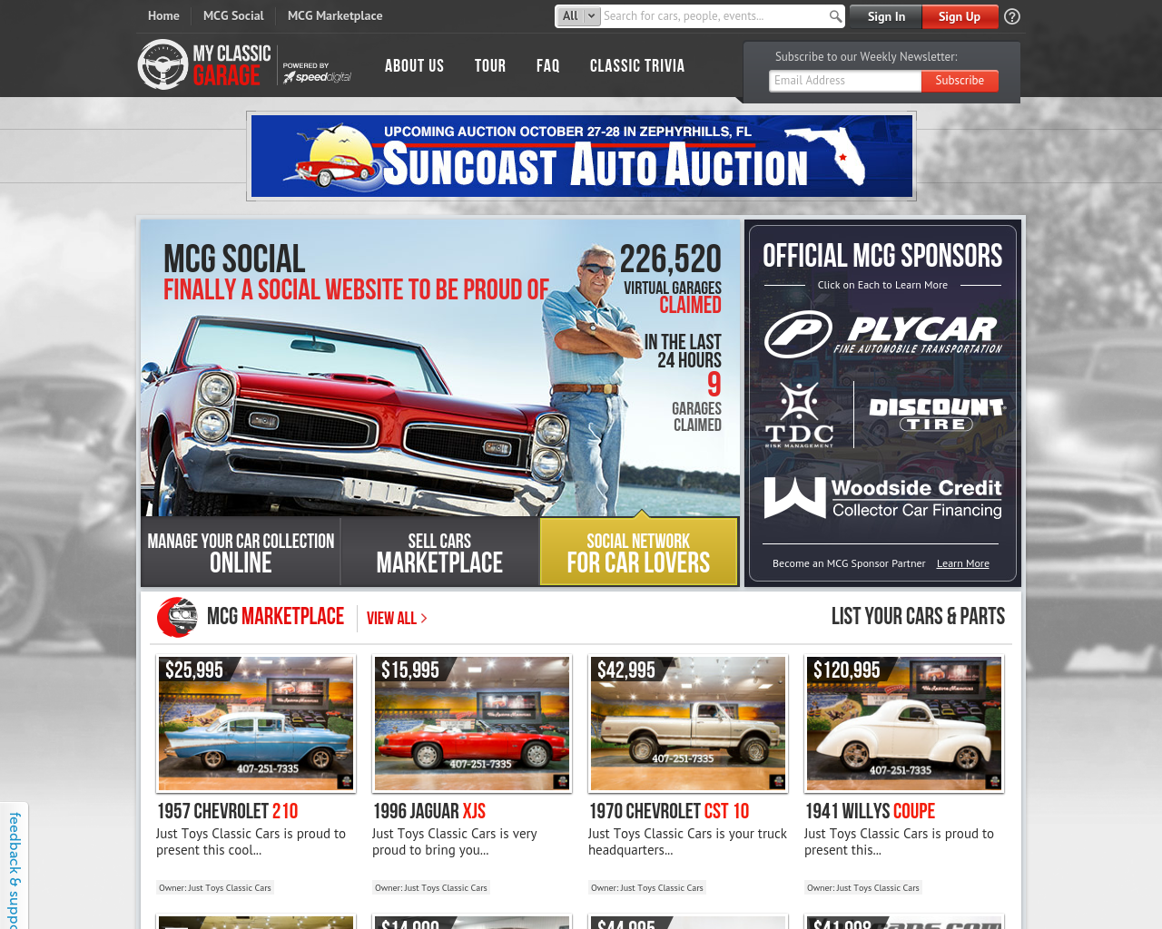 MyClassicGarage-Advertising-Reviews-Pricing