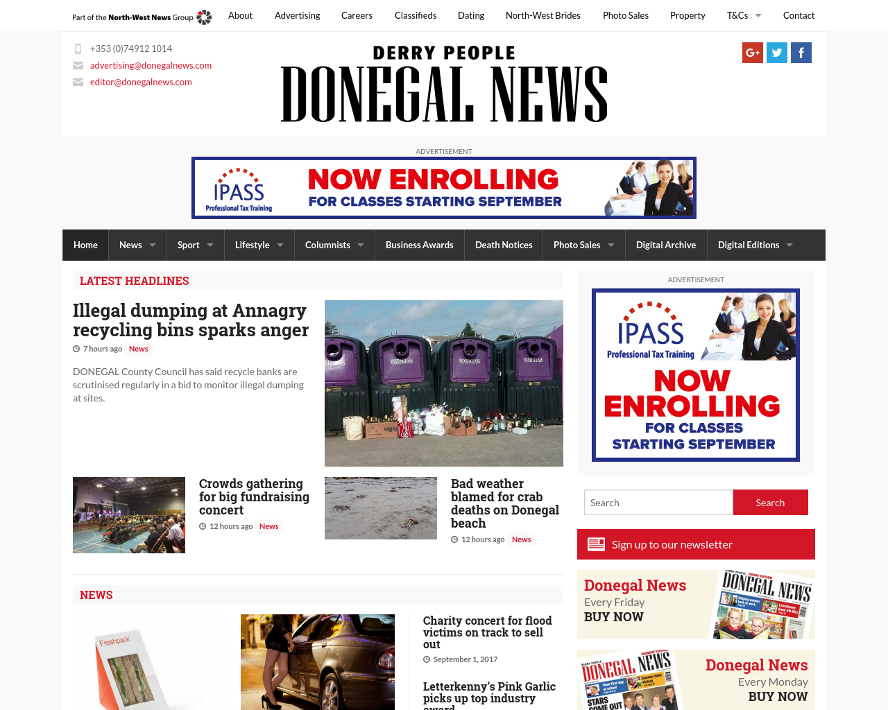 Donegal-News-Advertising-Reviews-Pricing