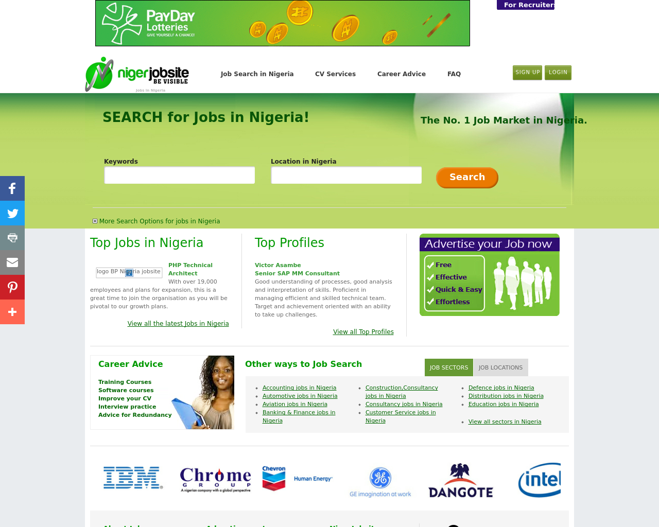 NigerJobsite-Advertising-Reviews-Pricing