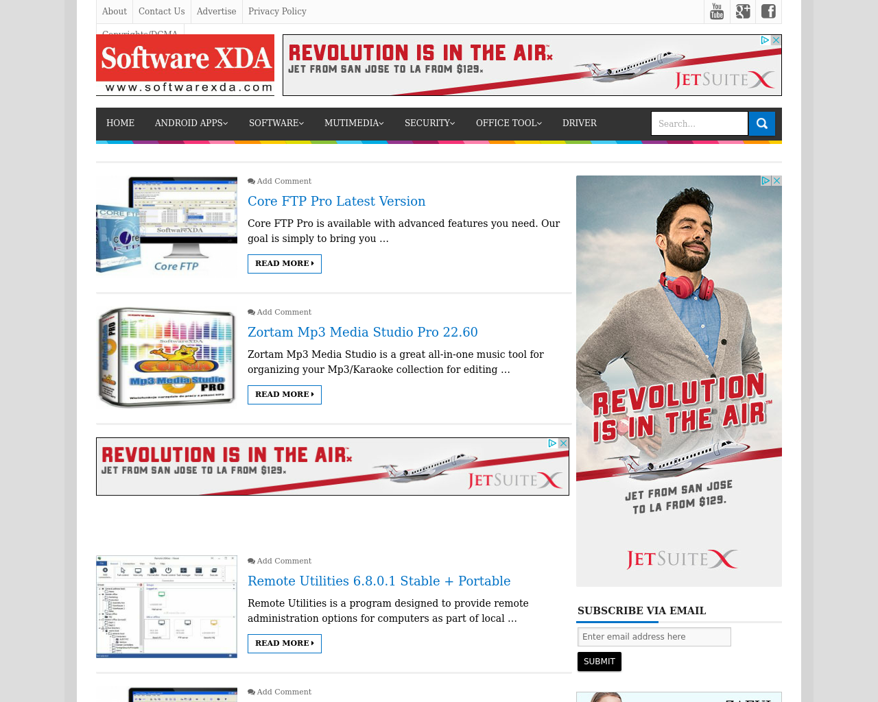 SoftwareXDA-Advertising-Reviews-Pricing
