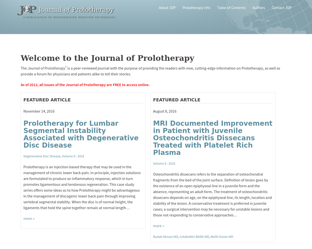 Journal-Of-Prolotherapy-Advertising-Reviews-Pricing