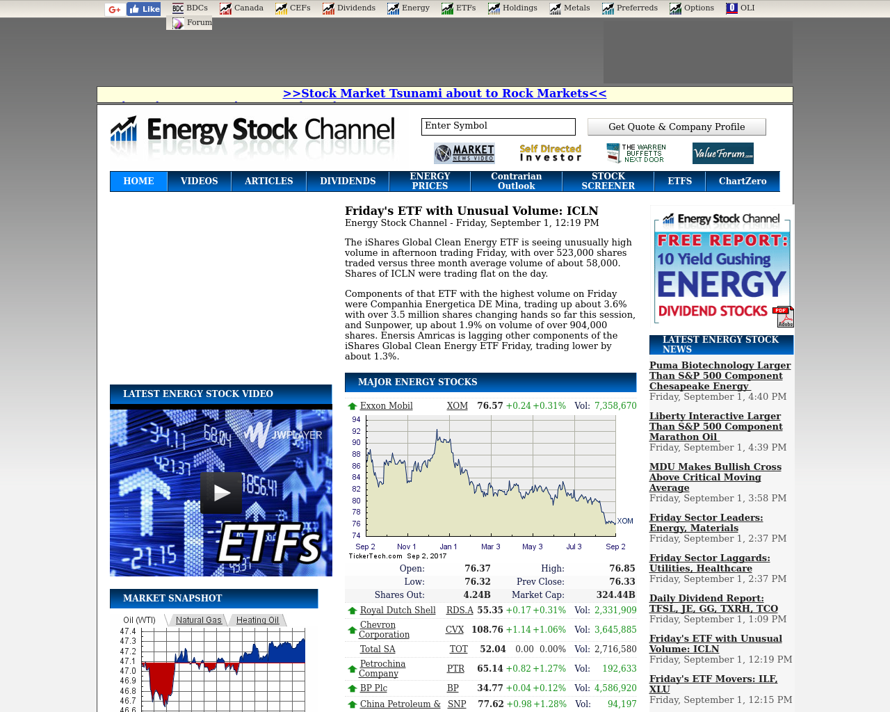 Energy-Stock-Channel-Advertising-Reviews-Pricing