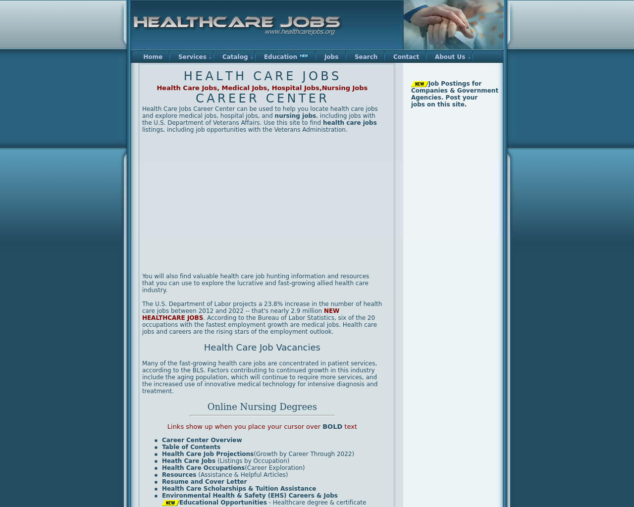 Health-Care-Jobs-Advertising-Reviews-Pricing