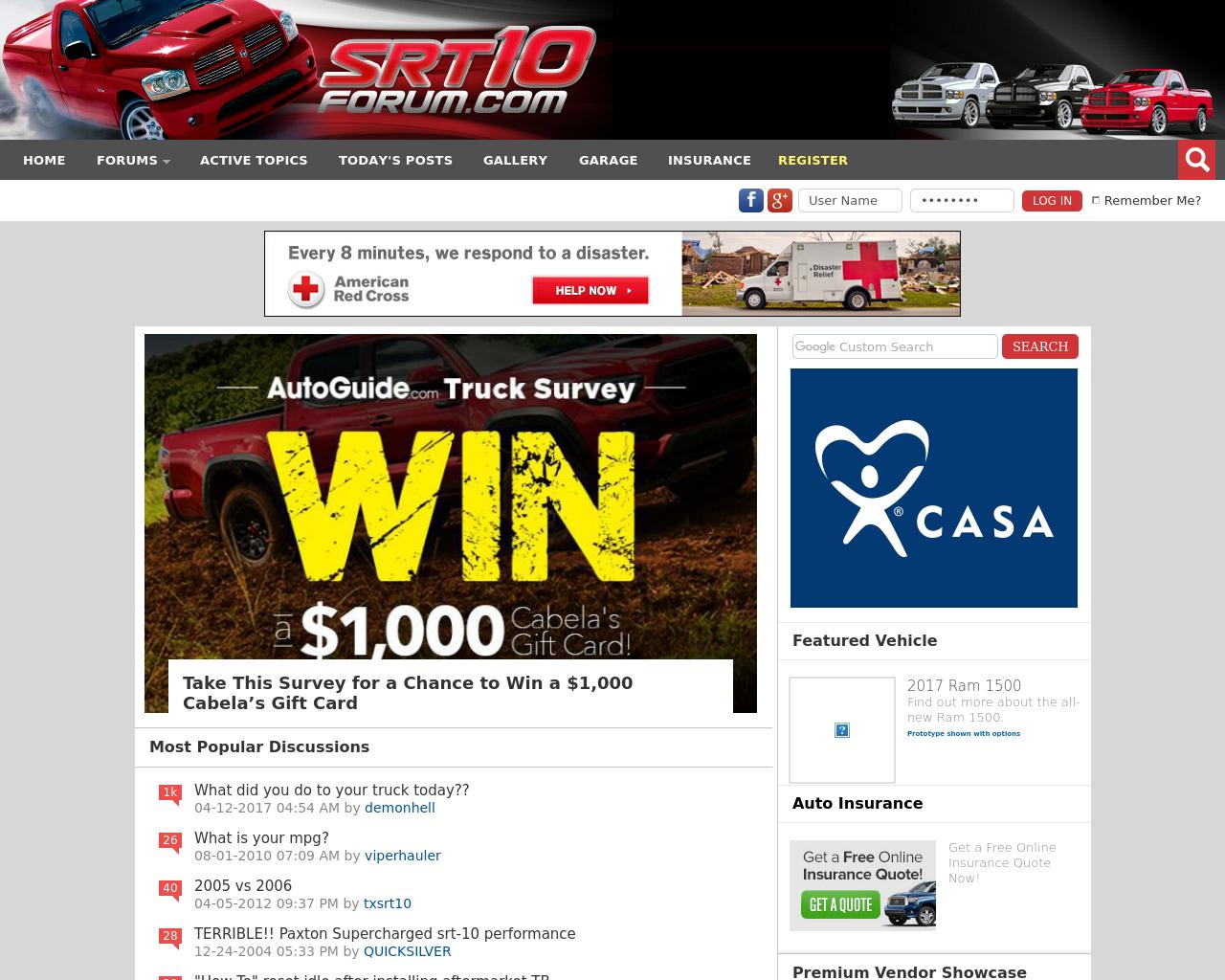 Srt10-Forum-Advertising-Reviews-Pricing