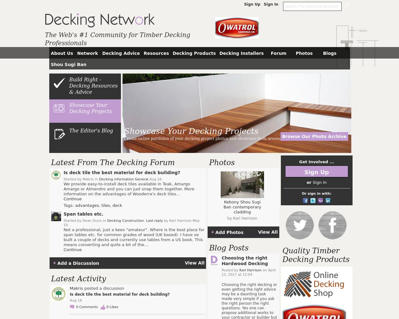 Decking-Network-Advertising-Reviews-Pricing