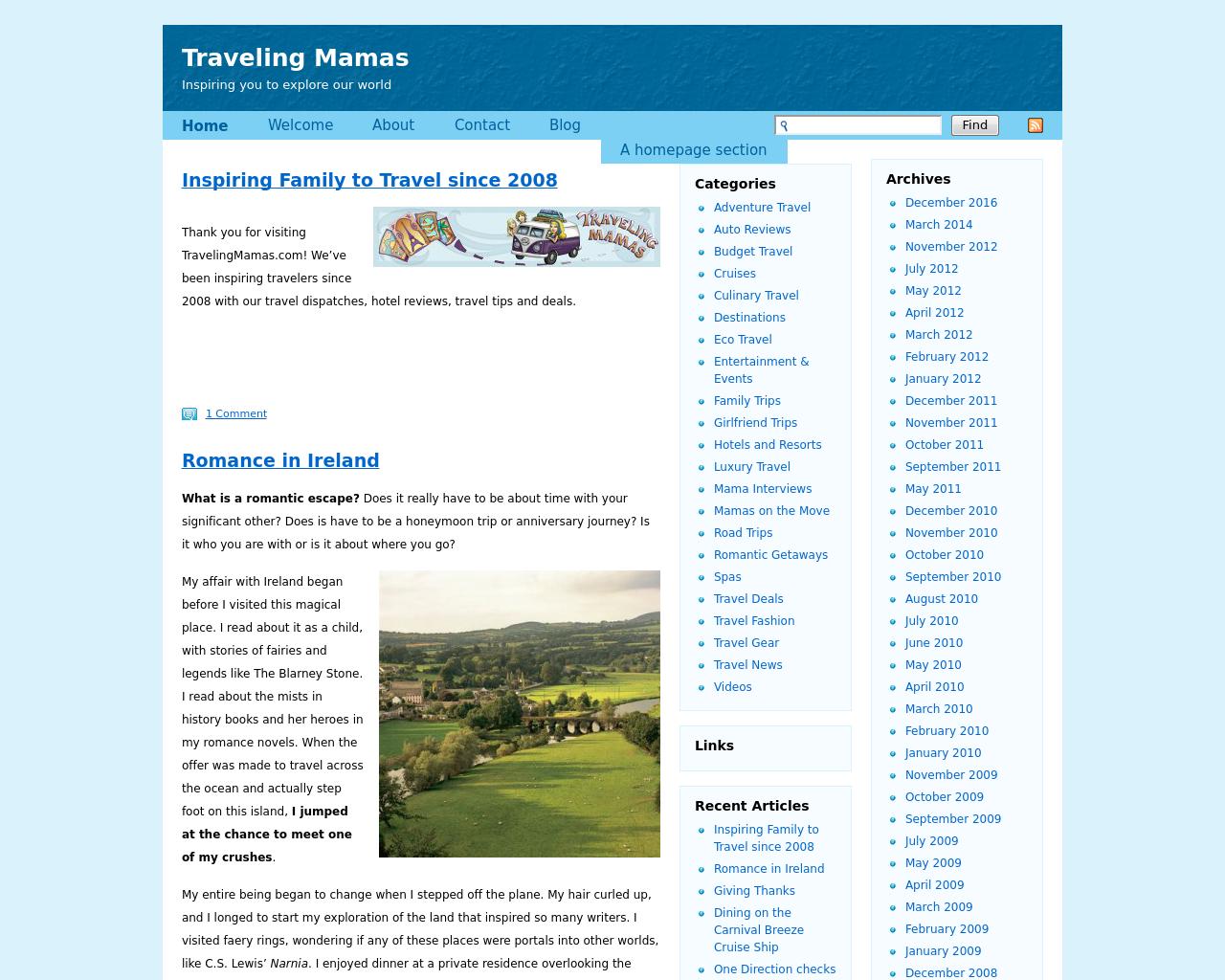 TravelingMamas.com-Advertising-Reviews-Pricing