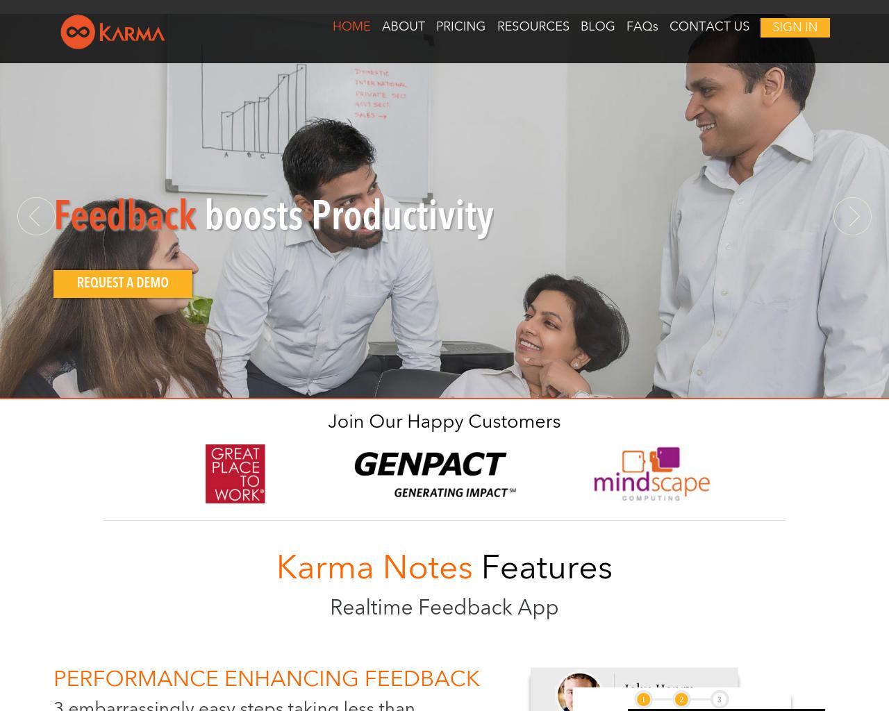 Karma-Feedback-Advertising-Reviews-Pricing