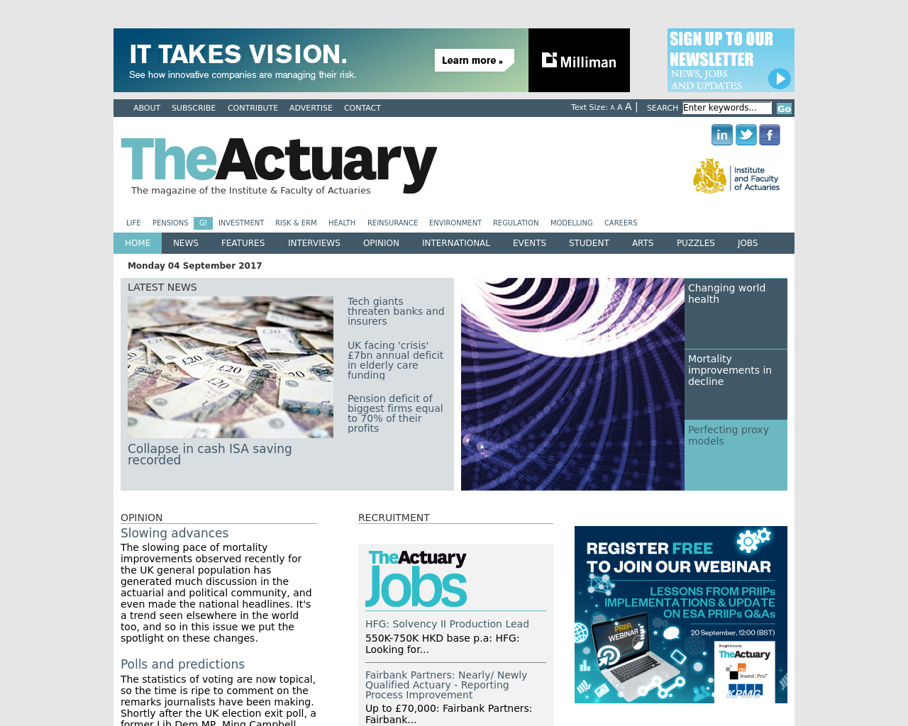 The-Actuary-Advertising-Reviews-Pricing