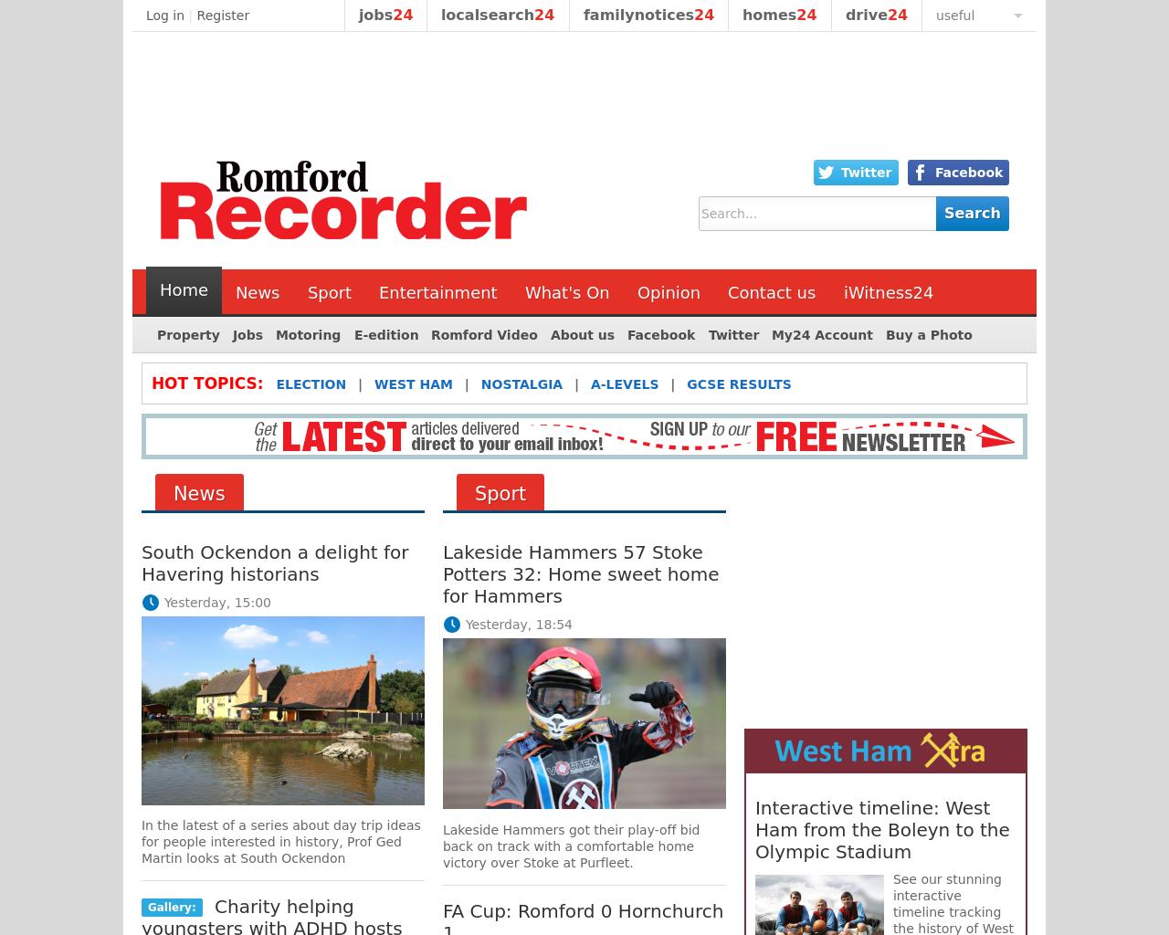 Romford-Recorder-Advertising-Reviews-Pricing