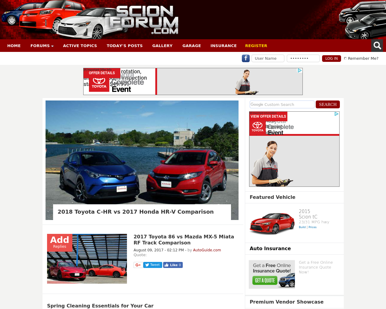 Scion-Forum-Advertising-Reviews-Pricing
