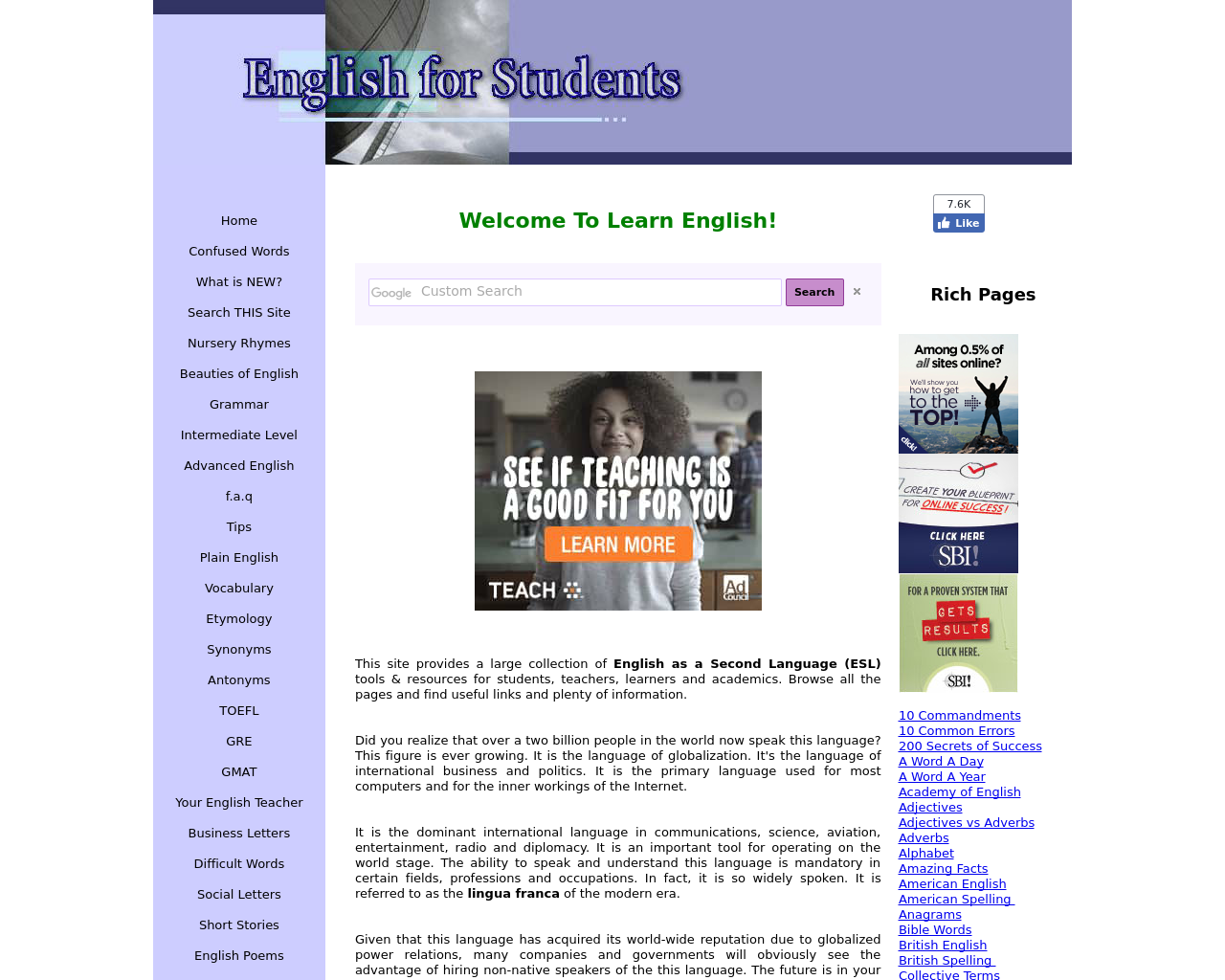 English-for-Students-Advertising-Reviews-Pricing