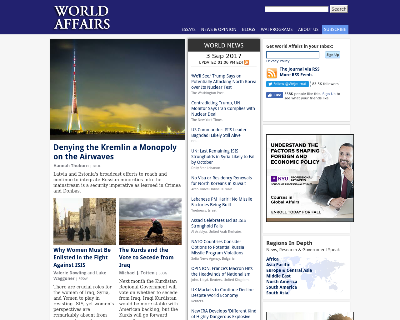WORLD-AFFAIRS-Advertising-Reviews-Pricing