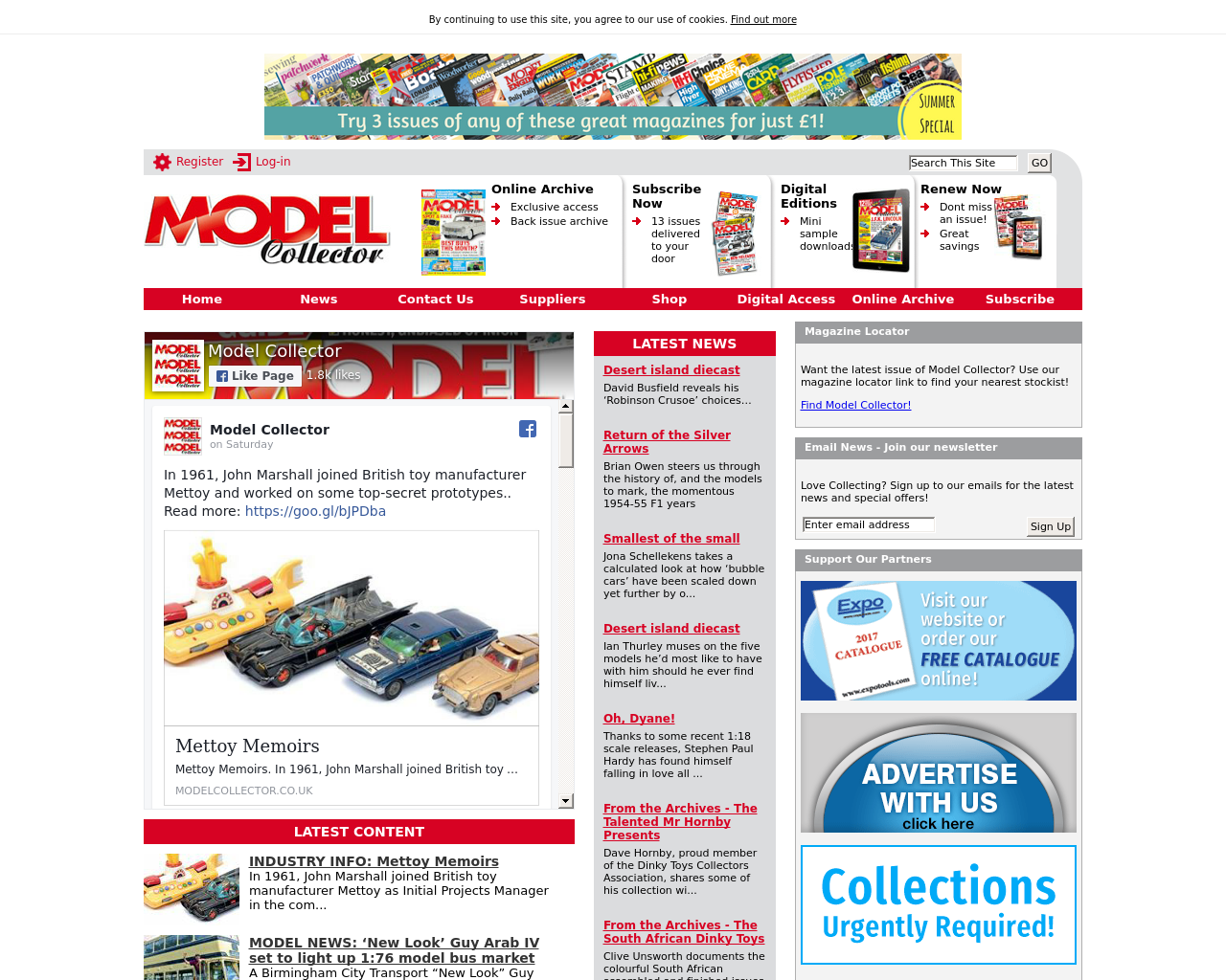 Model-Collector-Advertising-Reviews-Pricing