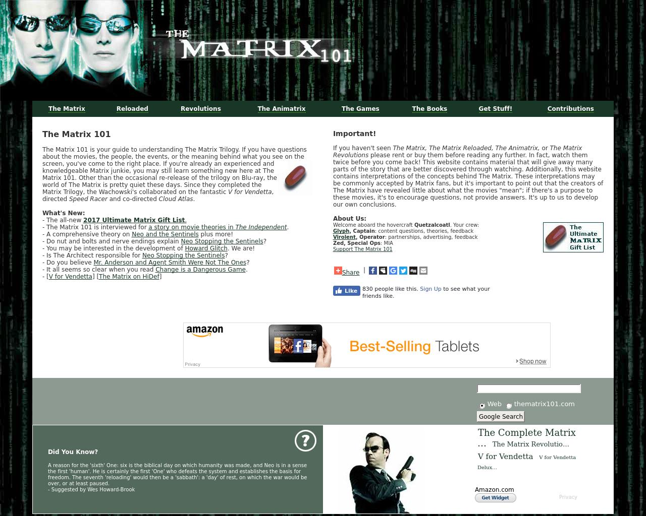 The-Matrix-101-Advertising-Reviews-Pricing