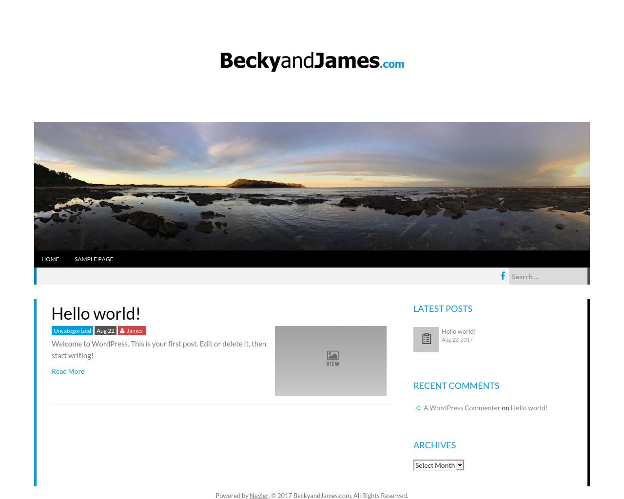 BeckyandJames.com-Advertising-Reviews-Pricing