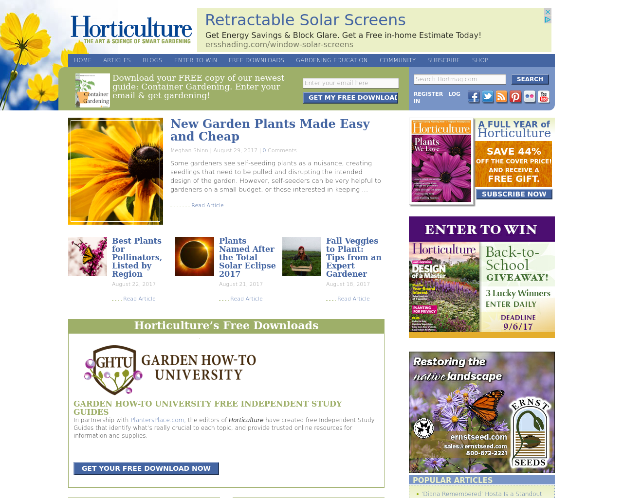 Horticulture-Advertising-Reviews-Pricing
