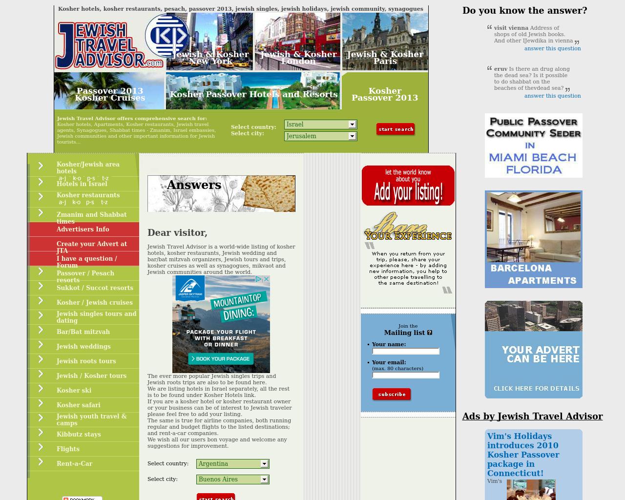 Jewish-Travel-Advisor-Advertising-Reviews-Pricing